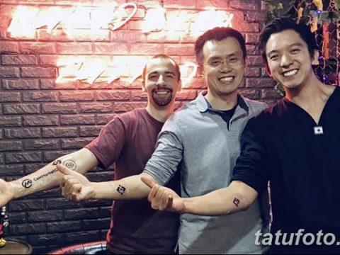 Чанпен Чжао сделал татуировку с логотипом Binance как символ своей вечной приверженности к платформе - фото