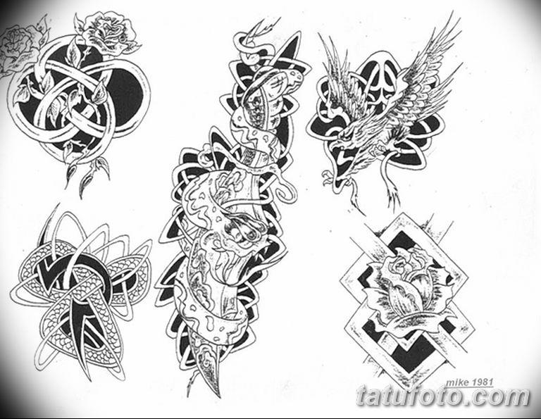 кельтские тату эскизы на руку 08.03.2019 №003 - tattoo on hand - tatufoto.com