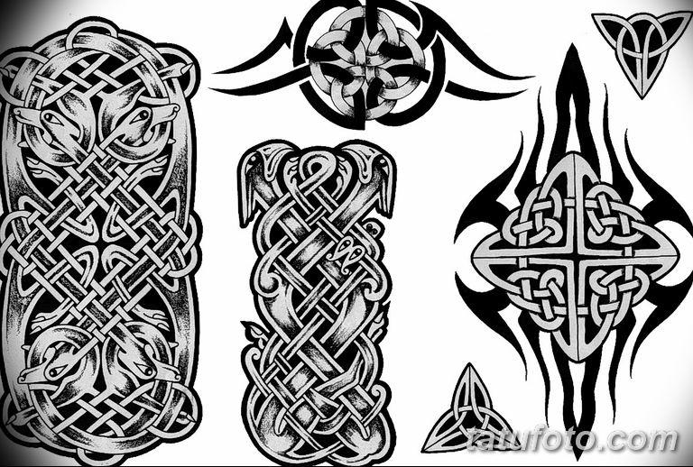 кельтские тату эскизы на руку 08.03.2019 №005 - tattoo on hand - tatufoto.com