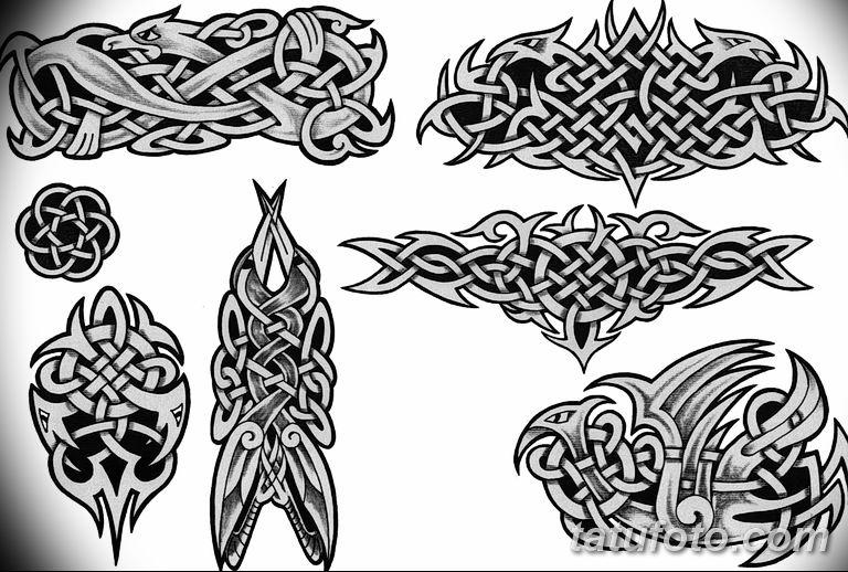 кельтские тату эскизы на руку 08.03.2019 №006 - tattoo on hand - tatufoto.com