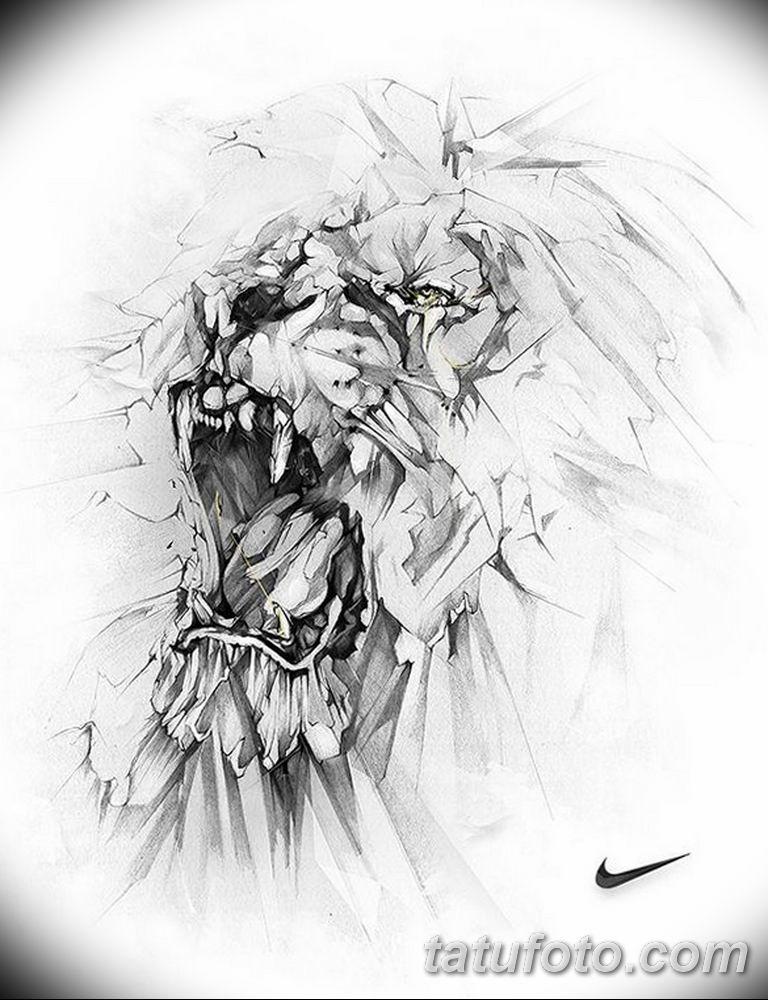 мужской эскиз для тату на руку - 08032019 - tatufoto.com 17