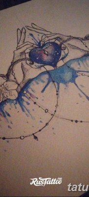 тату акварель для девушек эскизы 08.03.2019 №017 – tattoo sketches – tatufoto.com
