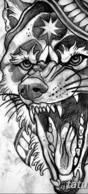 тату волка на руке эскизы – 08032019 – tatufoto.com 9