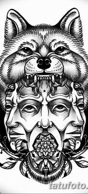 тату волка эскизы мужские 09.03.2019 №034 – tattoo sketches – tatufoto.com