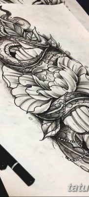 тату змея эскизы мужские 09.03.2019 №029 – tattoo sketches – tatufoto.com