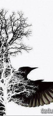 тату лес на руке эскиз – 08.03.2019 – tatufoto.com 5