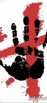 тату треш полька эскизы на руку 08.03.2019 №001 – tattoo on hand – tatufoto.com
