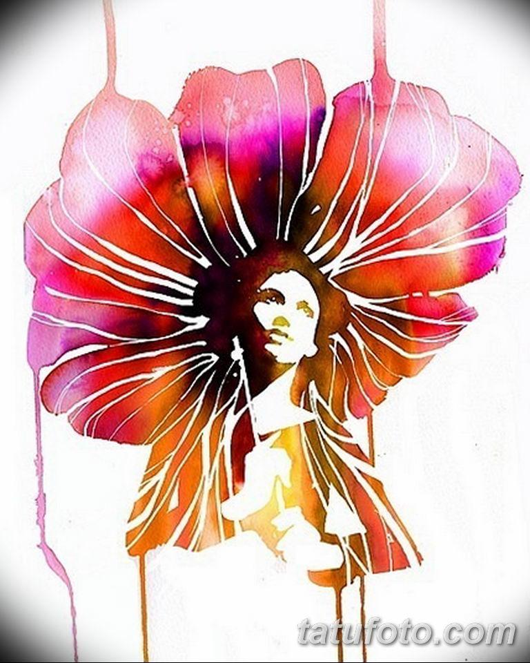 тату эскизы для девушек цветы 08.03.2019 №030 - tattoo sketches - tatufoto.com