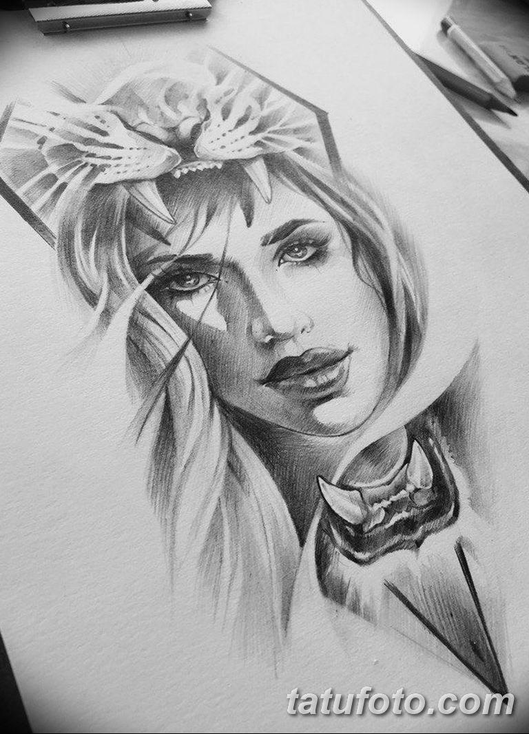 тату эскизы черно белые для девушек 08.03.2019 №031 - tattoo sketches - tatufoto.com