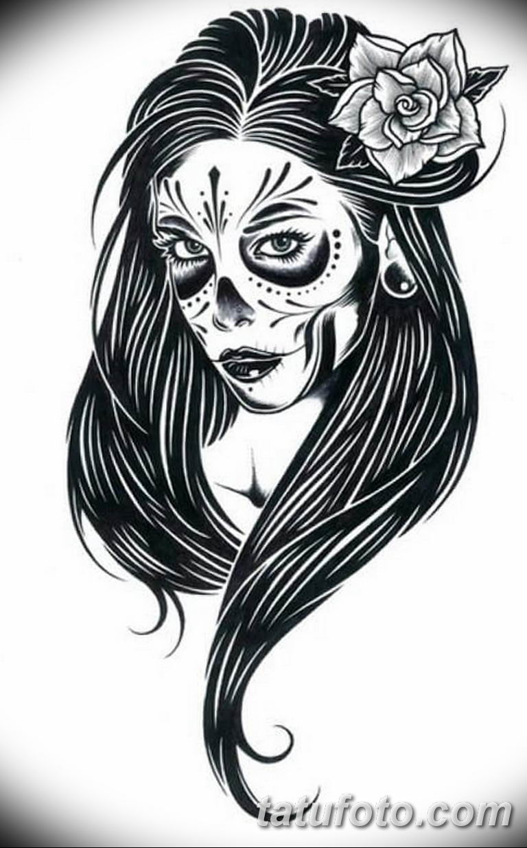 тату эскизы черно белые для девушек 08.03.2019 №036 - tattoo sketches - tatufoto.com