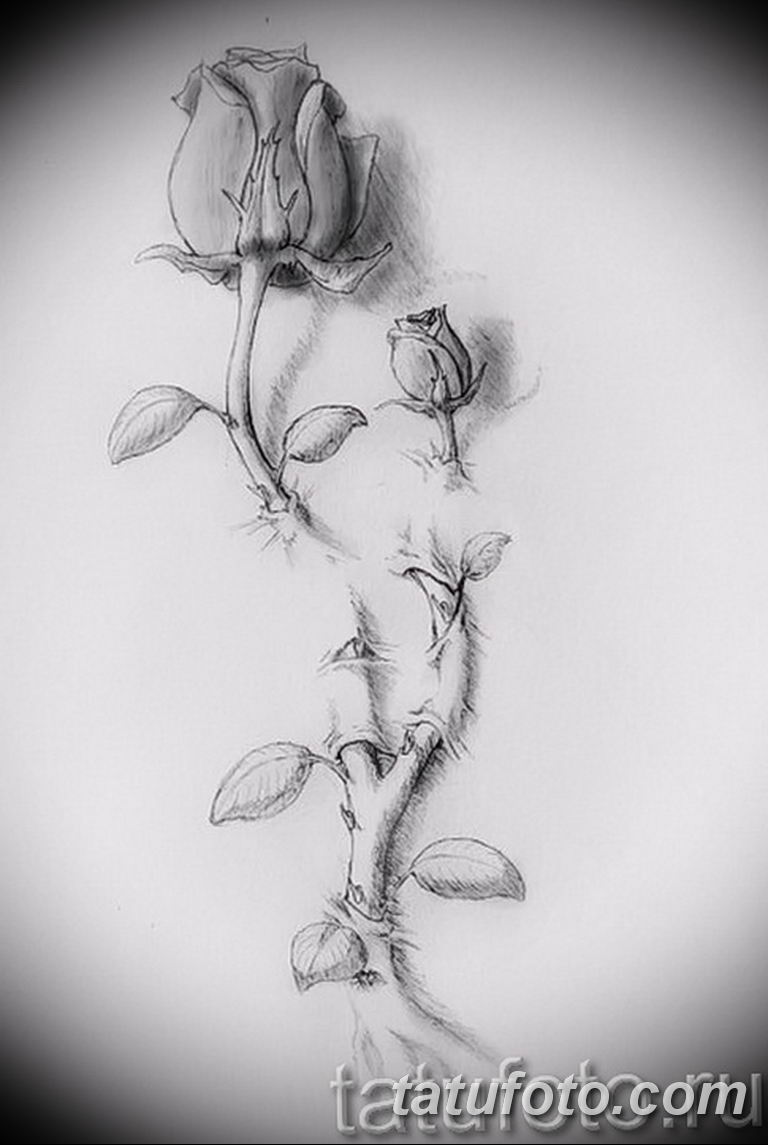 тату эскизы черно белые для девушек 08.03.2019 №037 - tattoo sketches - tatufoto.com