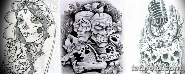 тату эскизы черно белые для девушек 08.03.2019 №050 - tattoo sketches - tatufoto.com
