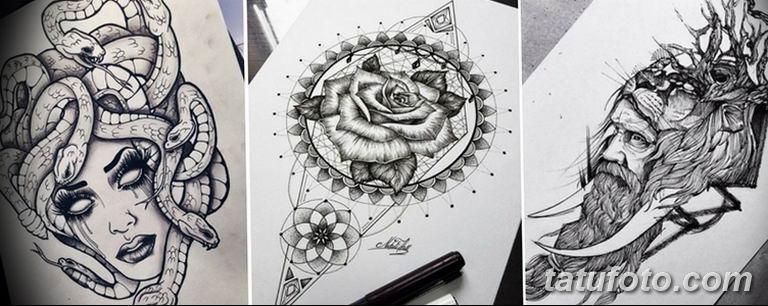 тату эскизы черно белые для девушек 08.03.2019 №053 - tattoo sketches - tatufoto.com
