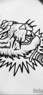 тату эскиз на ляшку мужские 09.03.2019 №006 – tattoo sketches – tatufoto.com