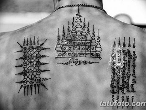 фото буддийский защита тату 18.03.2019 №001 - buddhist tattoo protection - tatufoto.com