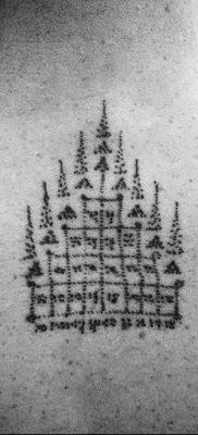 фото буддийский защита тату 18.03.2019 №075 – buddhist tattoo protection – tatufoto.com