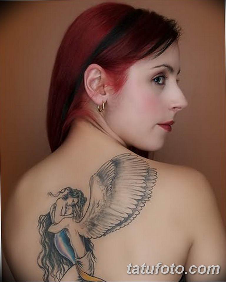 фото женской красивой татуировки 12.03.2019 №001 - girl with a tattoo - tatufoto.com
