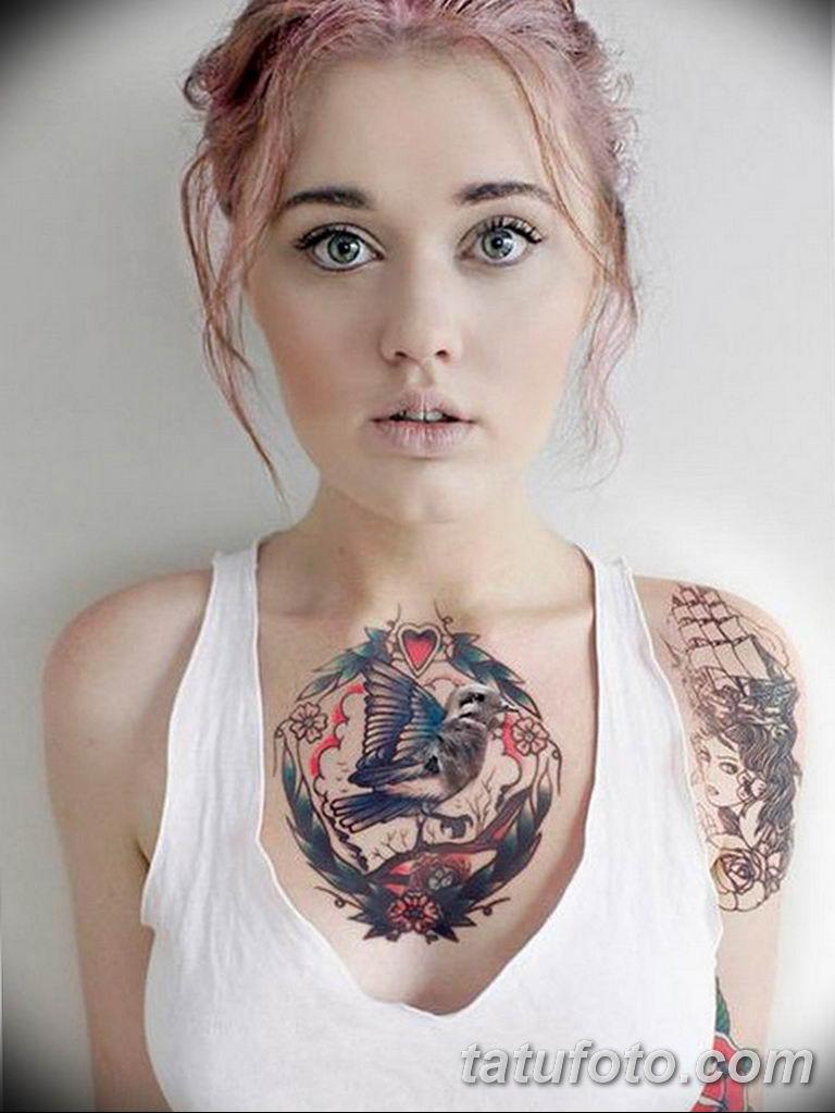 фото женской красивой татуировки 12.03.2019 №003 - girl with a tattoo - tatufoto.com