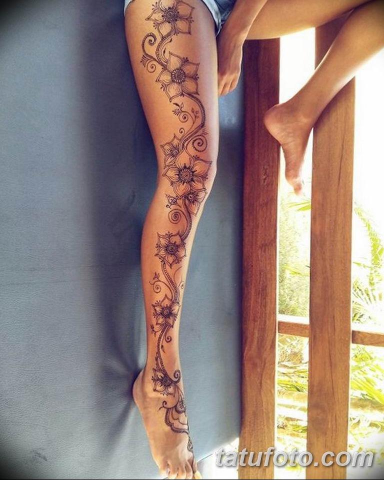 фото милой девушки с татуировкой 12.03.2019 №079 - girl with a tattoo - tatufoto.com