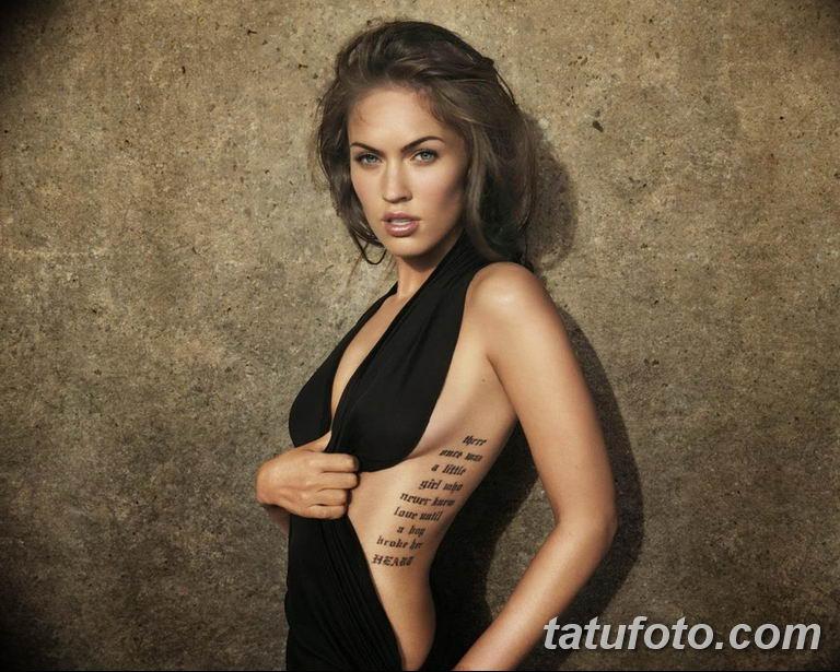 фото милой девушки с татуировкой 12.03.2019 №092 - girl with a tattoo - tatufoto.com