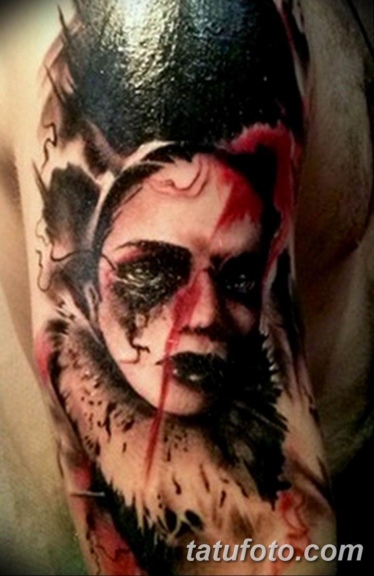 фото милой девушки с татуировкой 12.03.2019 №113 - girl with a tattoo - tatufoto.com