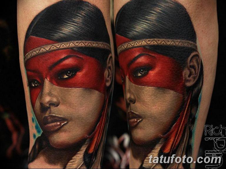 фото милой девушки с татуировкой 12.03.2019 №120 - girl with a tattoo - tatufoto.com