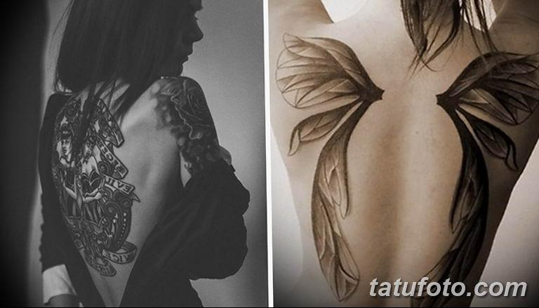 фото милой девушки с татуировкой 12.03.2019 №130 - girl with a tattoo - tatufoto.com