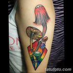 фото рисунка тату гриб 27.03.2019 №016 - tattoo mushroom - tatufoto.com