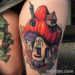 фото рисунка тату гриб 27.03.2019 №026 - tattoo mushroom - tatufoto.com