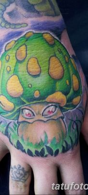 фото рисунка тату гриб 27.03.2019 №035 – tattoo mushroom – tatufoto.com