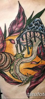 фото рисунка тату гриб 27.03.2019 №053 – tattoo mushroom – tatufoto.com