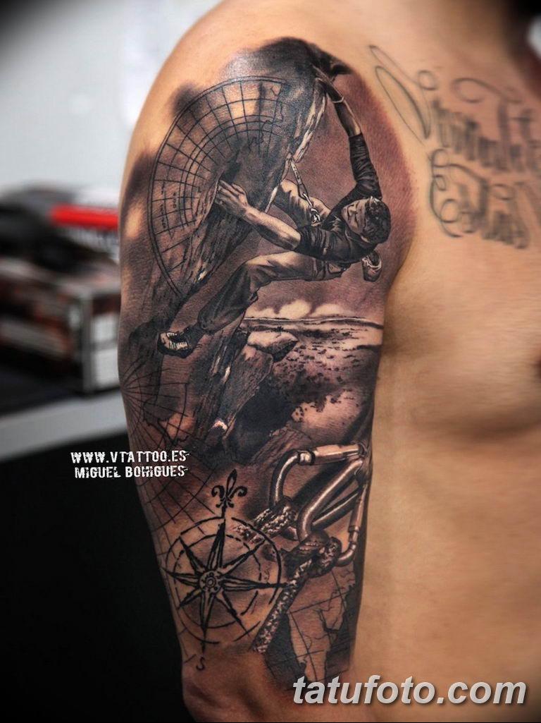 фото спортивных тату 16.03.2019 №008 - sports tattoo photos - tatufoto.com