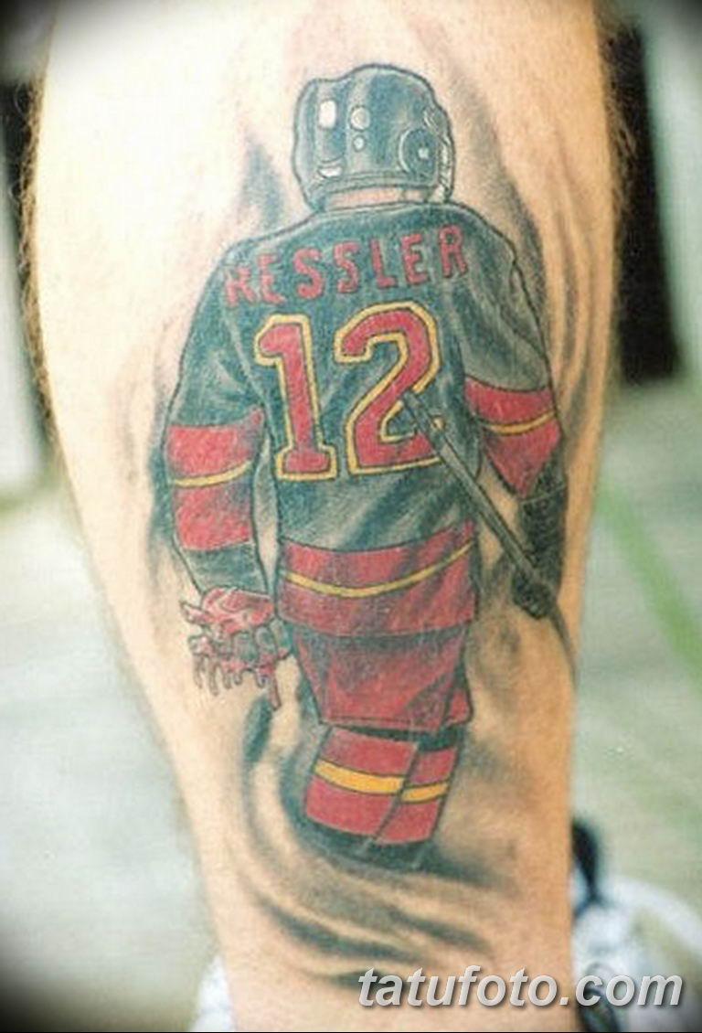 фото спортивных тату 16.03.2019 №032 - sports tattoo photos - tatufoto.com