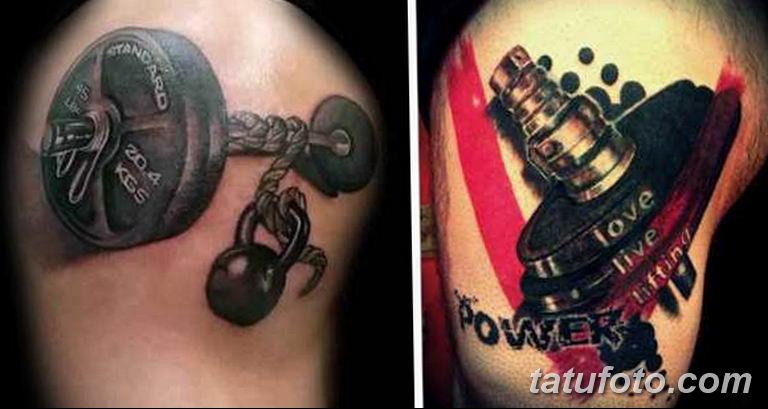 фото спортивных тату 16.03.2019 №049 - sports tattoo photos - tatufoto.com