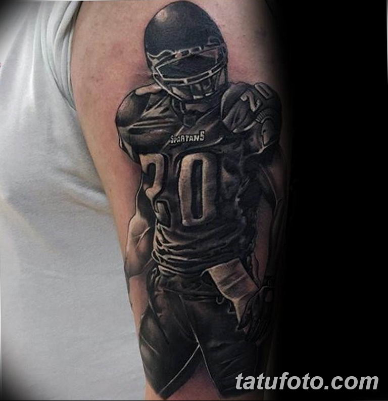 фото спортивных тату 16.03.2019 №165 - sports tattoo photos - tatufoto.com