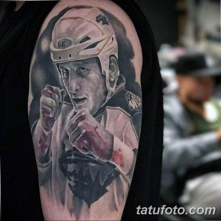 фото спортивных тату 16.03.2019 №169 - sports tattoo photos - tatufoto.com
