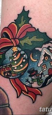 фото тату Ёлки 05.03.2019 №030 – photo tattoo Christmas trees – tatufoto.com