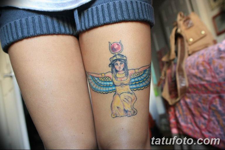 фото тату Богиня Исида 16.03.2019 №012 - Isis tattoo photo - tatufoto.com