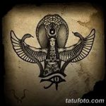 фото тату Богиня Исида 16.03.2019 №034 - Isis tattoo photo - tatufoto.com