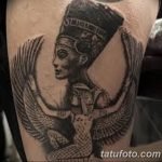 фото тату Богиня Исида 16.03.2019 №040 - Isis tattoo photo - tatufoto.com