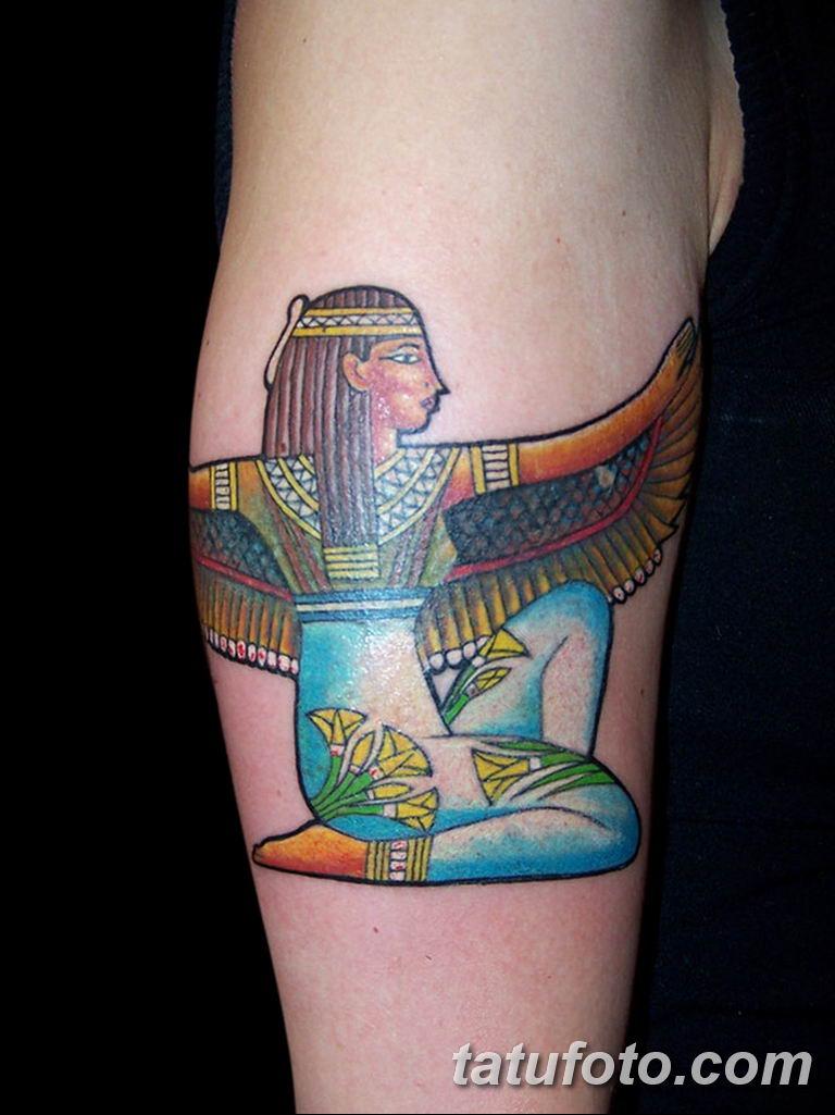 фото тату Богиня Исида 16.03.2019 №048 - Isis tattoo photo - tatufoto.com