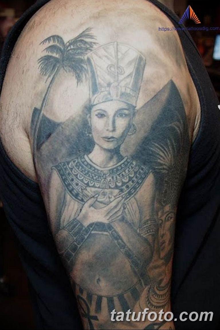 фото тату Богиня Исида 16.03.2019 №093 - Isis tattoo photo - tatufoto.com