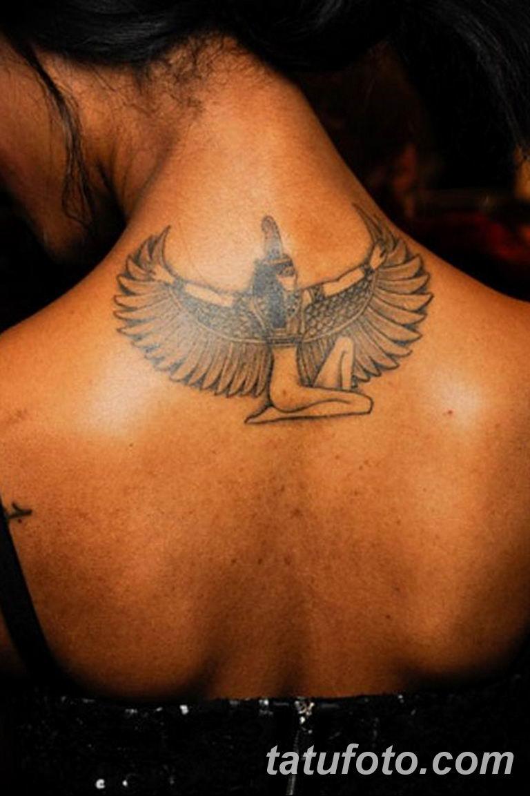 фото тату Богиня Исида 16.03.2019 №098 - Isis tattoo photo - tatufoto.com