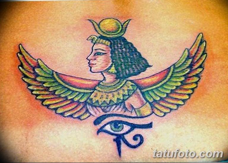 фото тату Богиня Исида 16.03.2019 №145 - Isis tattoo photo - tatufoto.com