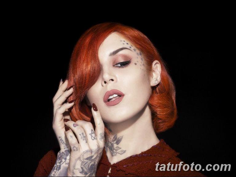 фото тату Кэт Вон Ди 16.03.2019 №049 - photo tattoo Kat Von D - tatufoto.com