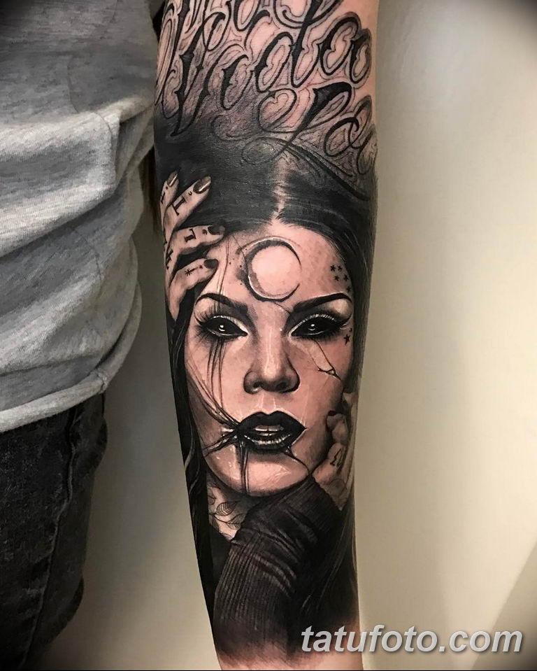 фото тату Кэт Вон Ди 16.03.2019 №102 - photo tattoo Kat Von D - tatufoto.com
