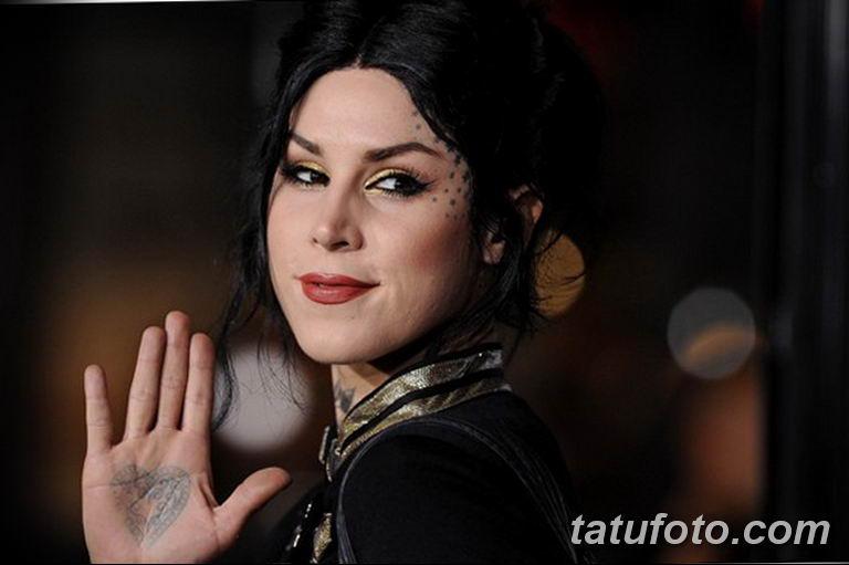фото тату Кэт Вон Ди 16.03.2019 №175 - photo tattoo Kat Von D - tatufoto.com