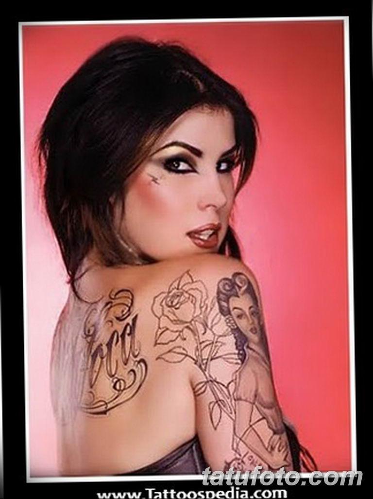 фото тату Кэт Вон Ди 16.03.2019 №182 - photo tattoo Kat Von D - tatufoto.com