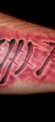 фото тату группа крови пример 19.03.2019 №033 – tattoo with blood – tatufoto.com