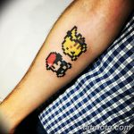 фото тату из пикселей 27.03.2019 №018 - tattoo pixel - tatufoto.com